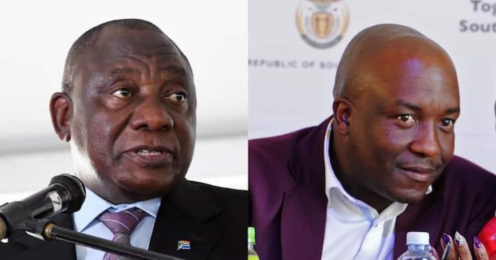 Mpumalanga MEC, Mandla Msibi, Cyril Ramaphosa, murder accused, step aside