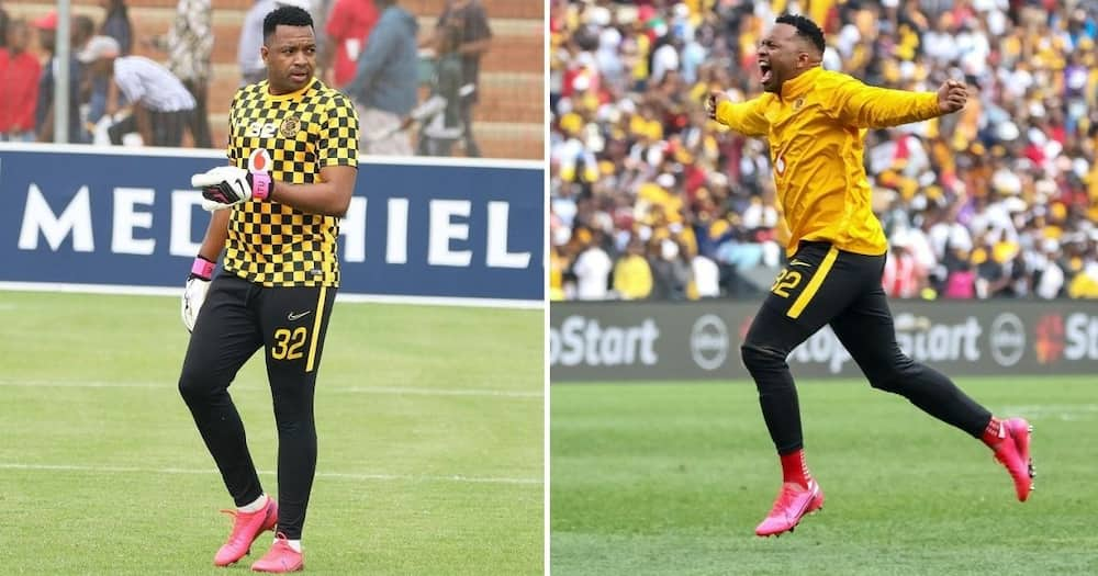 Kaizer Chiefs goalkeeper Itumeleng Khune has responded to a fan who just said he looks old. Image: @ItuKhune32/Instagram