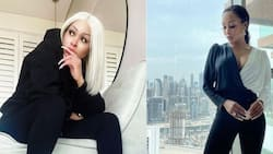8 stunning pics of SA socialite Khanyi Mbau living it large in Dubai