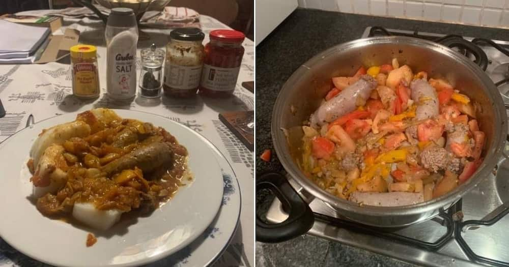 """Tito Mboweni's cooking has got tongues wagging: """"He needs a wife"""""""