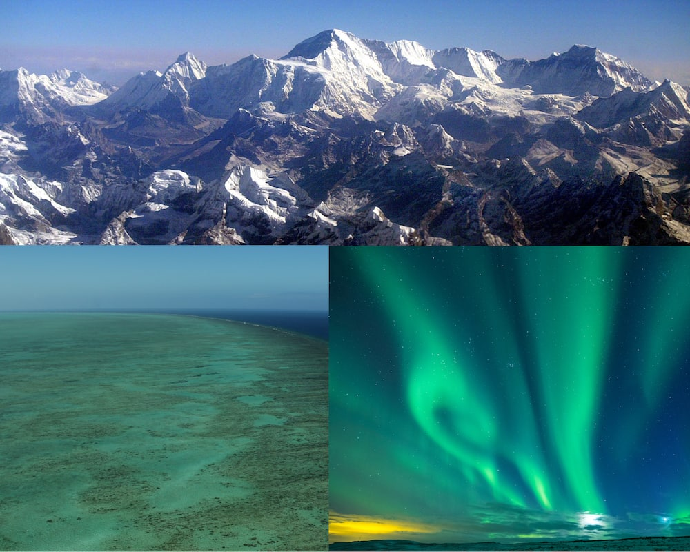 top 7 natural wonders of the world