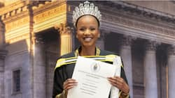 Miss SA the only student to receive a graduation ceremony, Mzansi not impressed