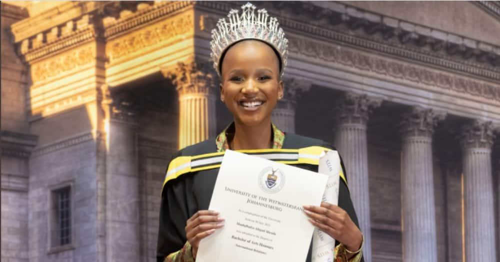 Miss SA, Graduation ceremony, Only Student, Mzansi not impressed