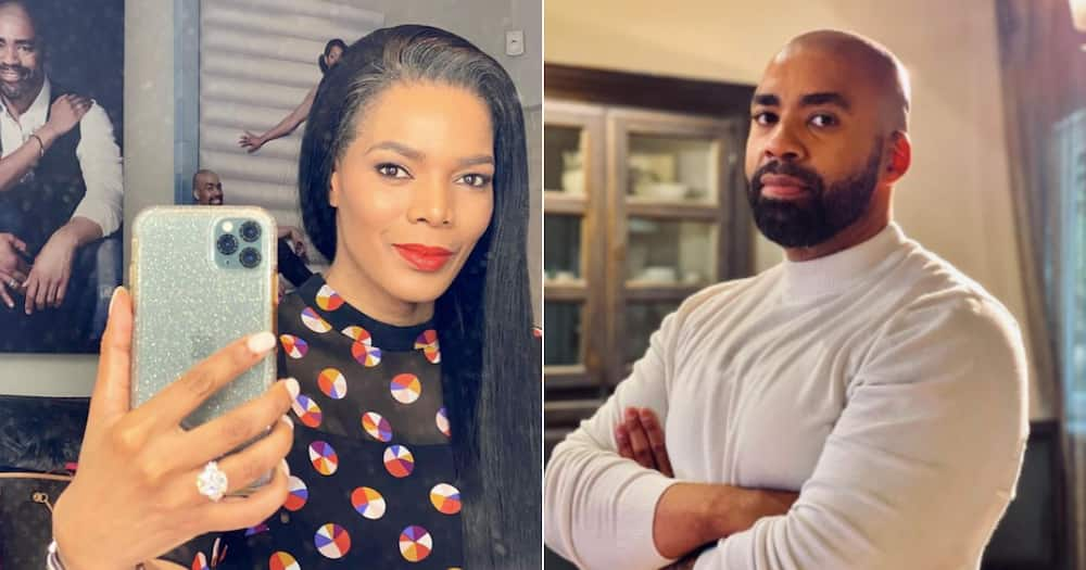 Connie Ferguson says access to your partner's bank account is the major key