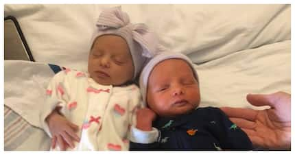 New mom endures 40 hours of labour then is shocked by unexpected twins