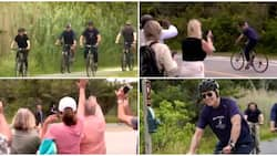 Video shows 78-year-old US President Joe Biden & wife cycling, stirs reactions