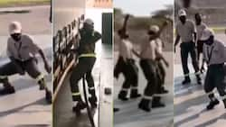 """""""Lovely"""": Mzansi warmed by a video of united employees dancing at truck stop"""