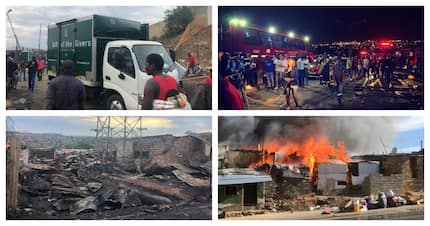 Mzansi pulls together to help those affected by the Alexandra fire