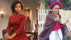 Lusanda Mbane posts cosy and cute pic of family in matching outfits