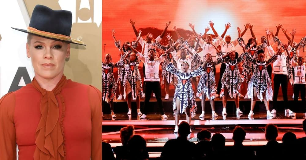 Ndlovu Youth Choir joins Pink in melodious cover of 'A Million Dreams'