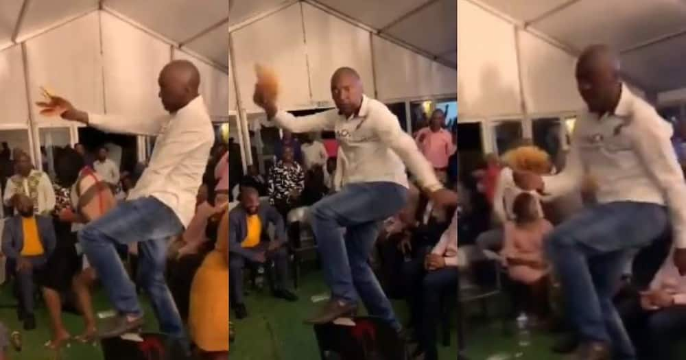 SA reacts to man flaunting wads of cash