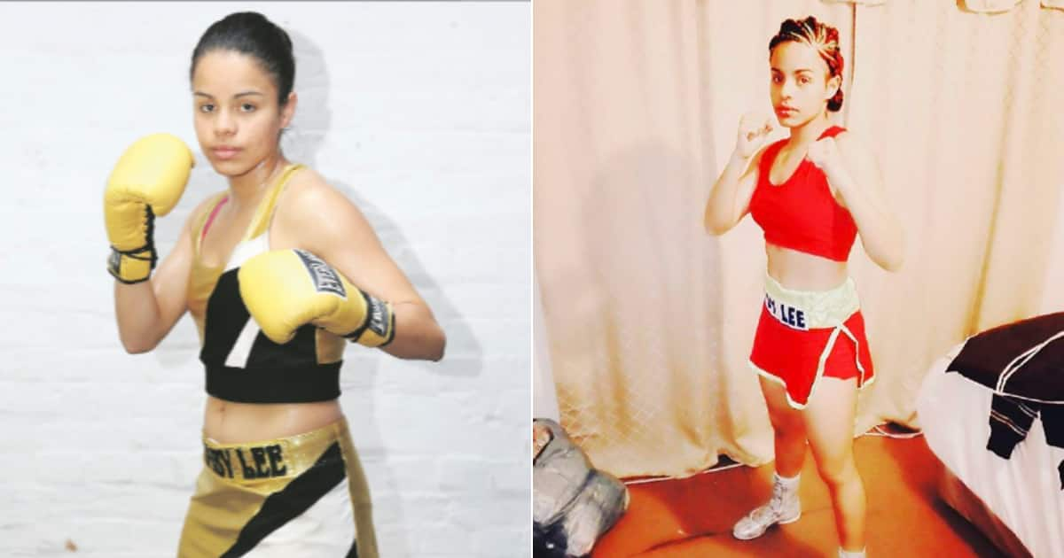 Image result for images of SA female boxer Leighandre 'Baby Lee' Jegels shot dead