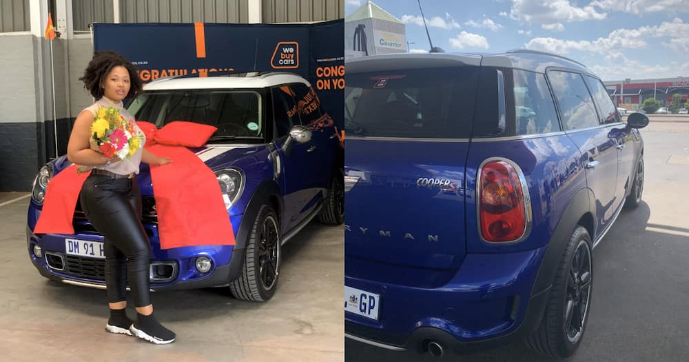 Lady Heads Online to Show off Her New Whip That She Bought at Only 19