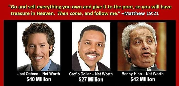 Top richest prosperity gospel pastors
