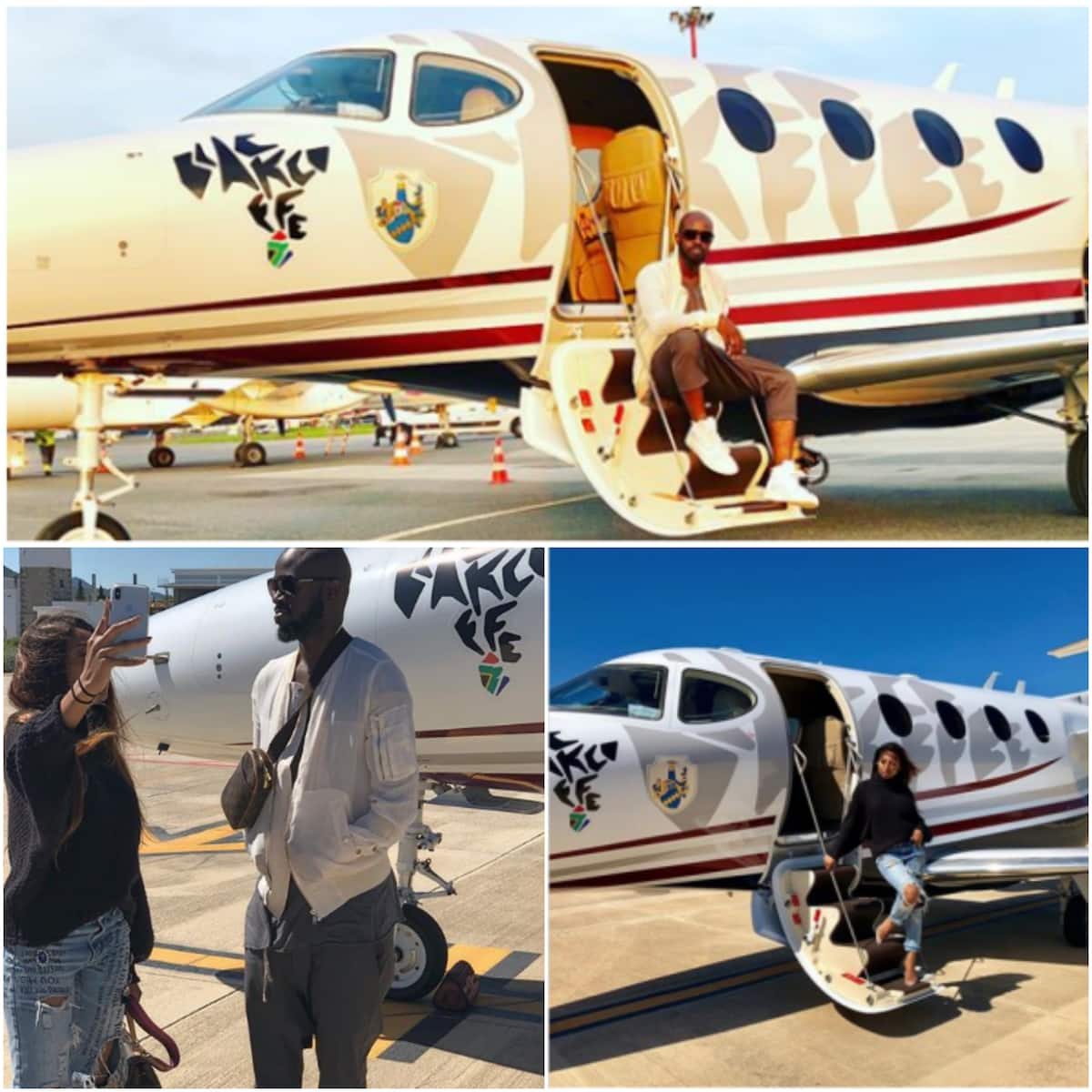 black coffee private jet