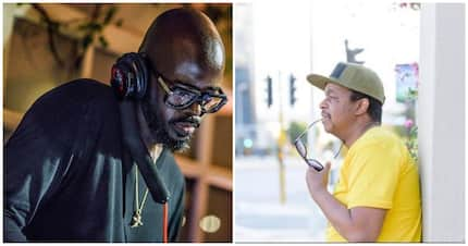 "Kwaito producer and rapper, Oskido, calls Black Coffee ""Superman"""