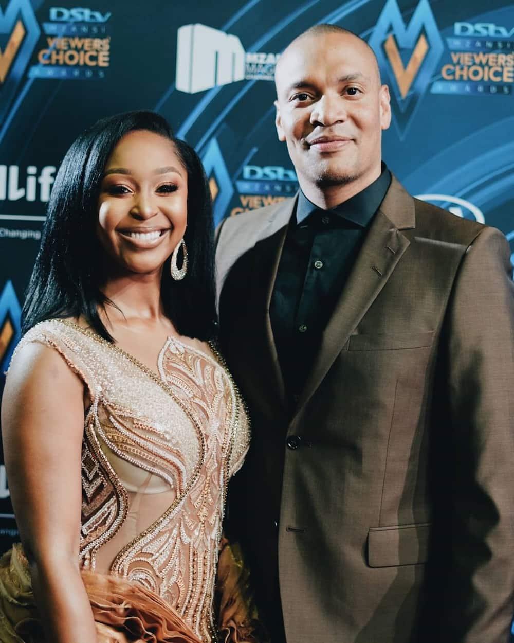 Quinton Jones and Minnie Dlamini
