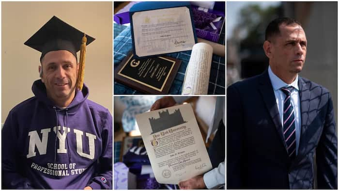 Man who was pardoned and freed from prison wins in life, bags degree with 3.9 CGPA, Barack Obama reacts