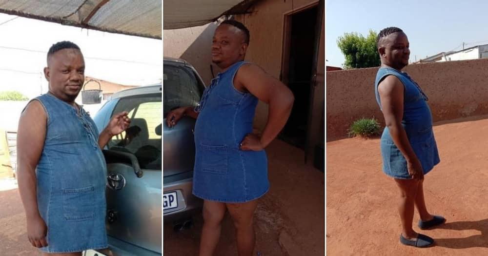 Photos surface online showing man rocking a dress, Mzansi reacts