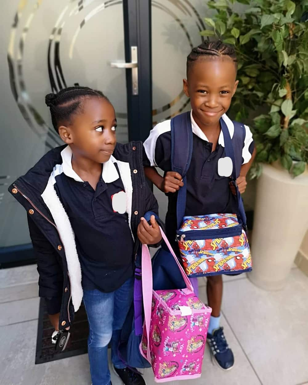 Dineo Ranaka children