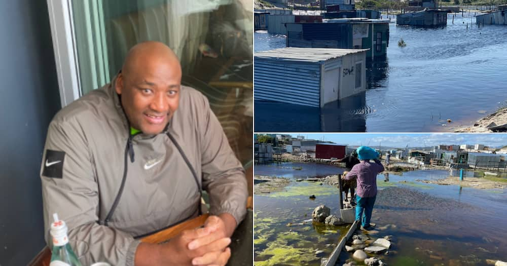 Former, Convicted criminal, Political leader, Gayton McKenzie, Can of worms, Local government, Electioneering, Twitter account, Glimpse, Shocking, Living conditions, Black people, Municipality, Cape Town Metro