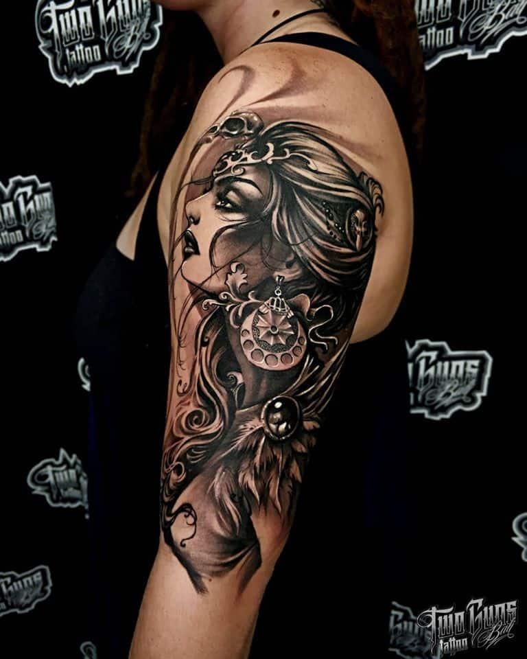 african tribal tattoos sleeves