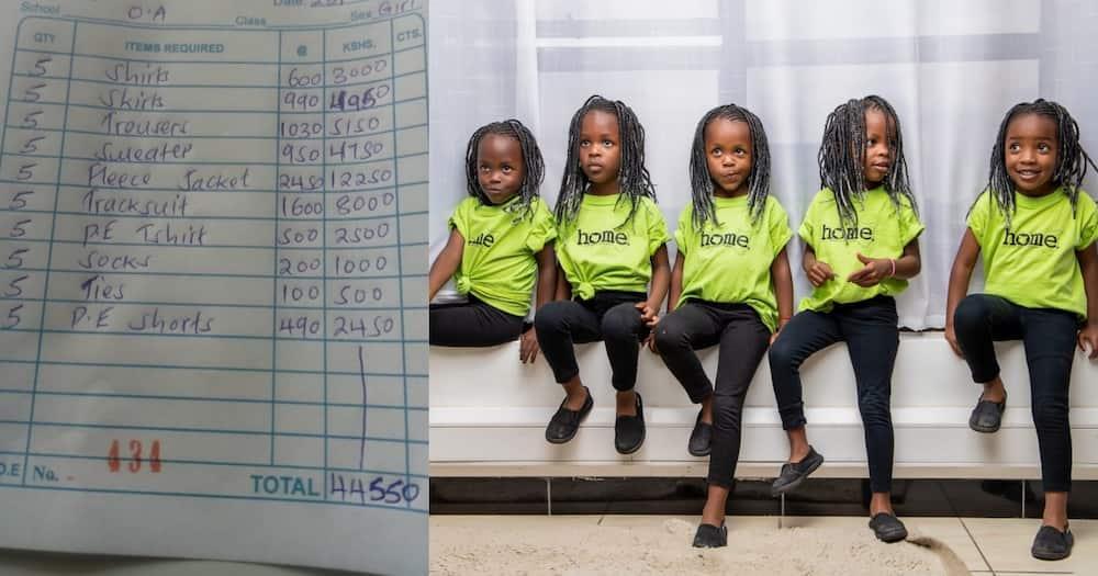 Divinar Joseph, Mom, Quadruplets, R5 900, School, Uniforms