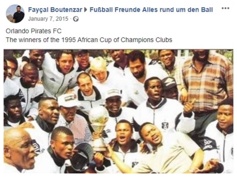 16 Dec: In 1995, Pirates won the African Championship Cup