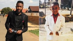 """""""In your blood"""": Man shares then & now pics of himself, cleans up nicely"""