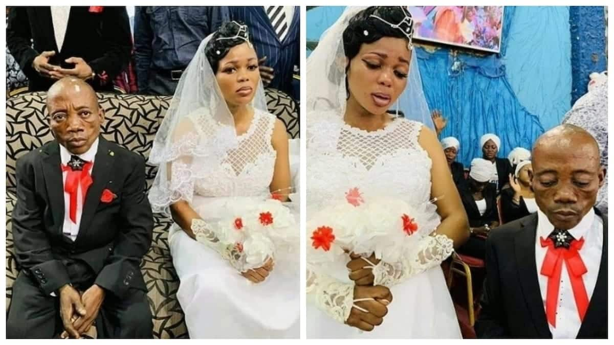 Heart-breaking pictures of a sad bride on her wedding day go viral