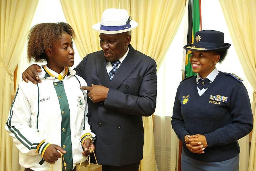 police commissioner south africa
