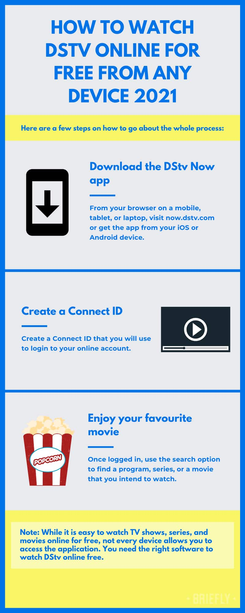 how to watch dstv channels online for free