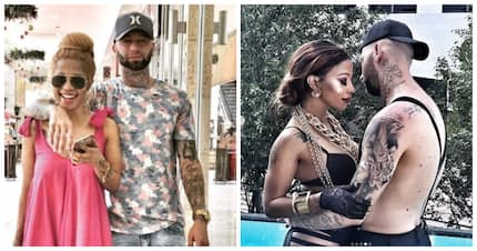 Kelly Khumalo and Chad Da Don's snaps define their relationship status