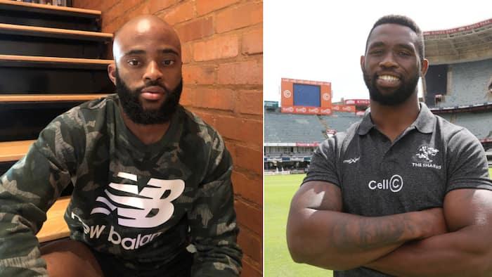 Proteas captain Temba Bavuma tests Siya Kolisi's batting skills: #EpicFail