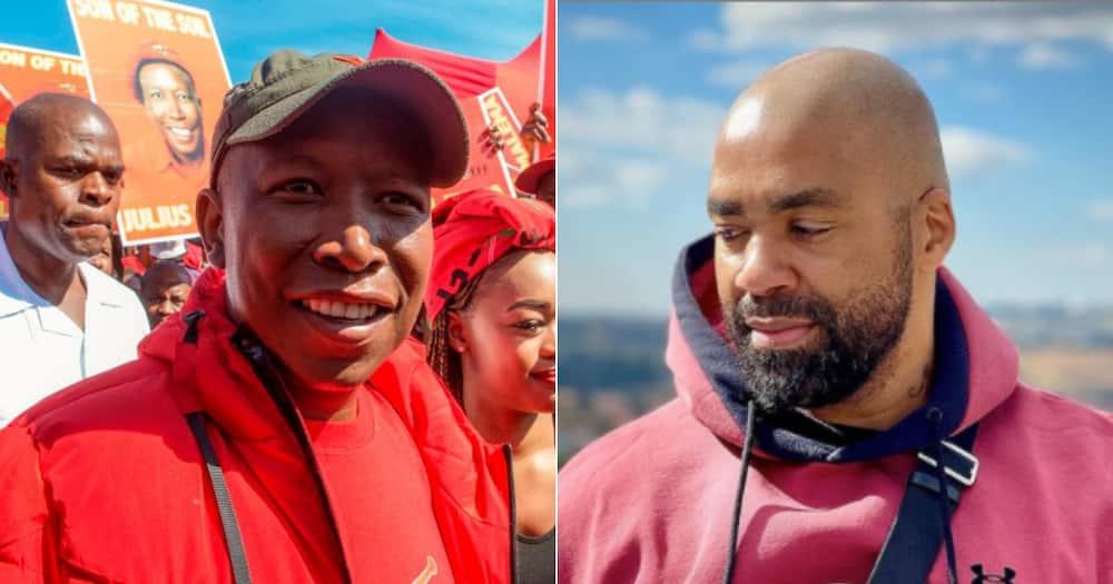 Julius Malema, Shona Ferguson, Milpark Hospital, Twitter reactions