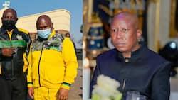 Ramaphosa, Malema and others mourn tragic death of Johannesburg Executive Mayor Jolidee Matongo