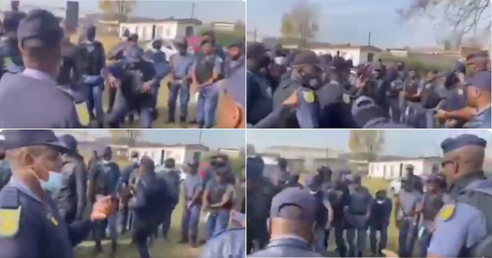 Police, Video, Dancing, Online Reactions, Twitter