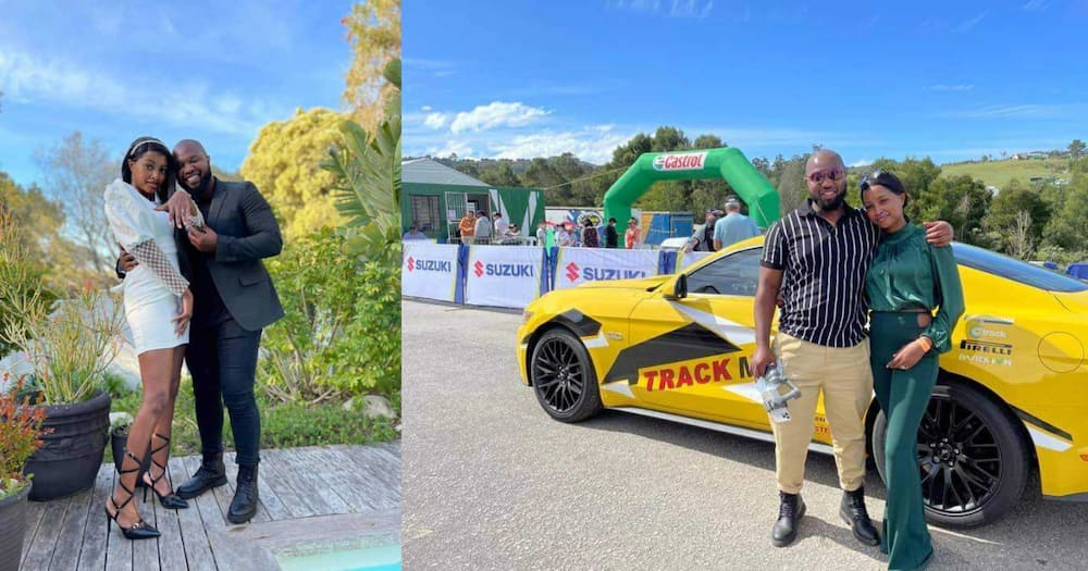 Perfect love story: Motor heads get engaged on the race course