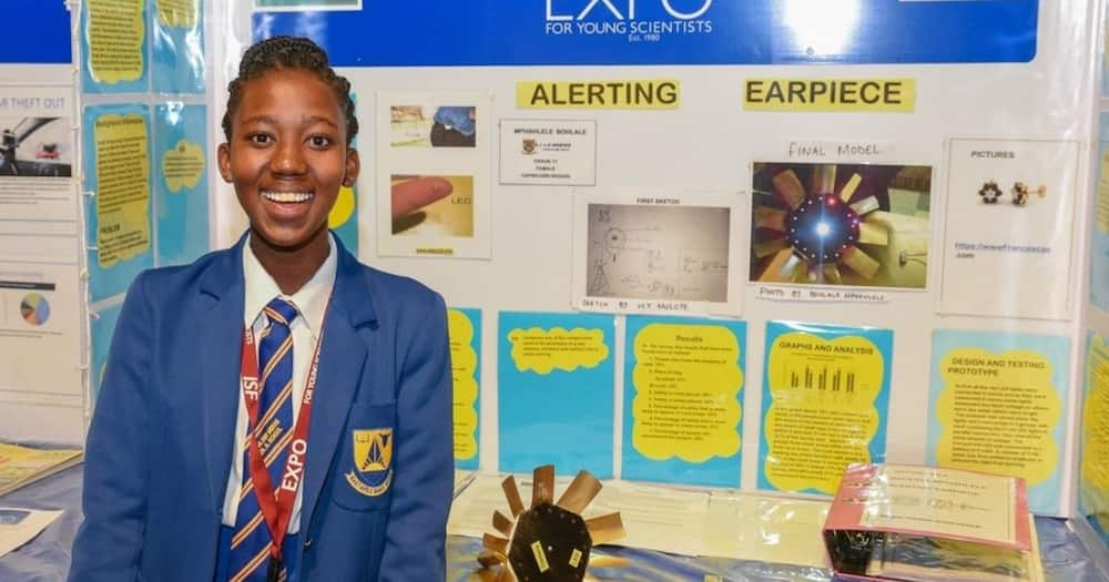 Teen invents alerting device to help protect women against kidnappers