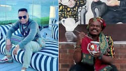 DJ Tira is thankful to Rasta for honouring him with 1 of his famous portraits