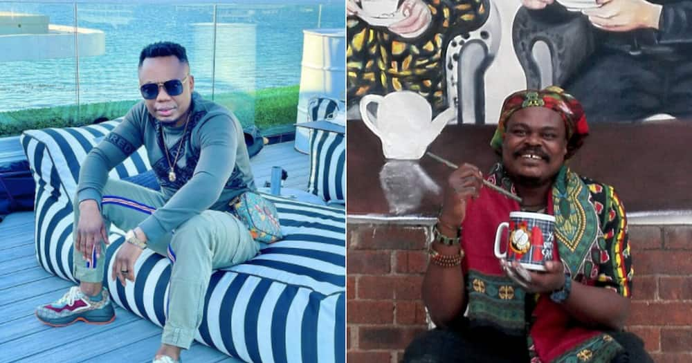 DJ Tira is thankful for Rasta honouring him with one of his famous portraits