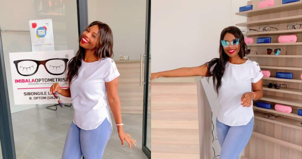 Gorgeous SA Lady Opens Own Optometry Practice, Mzansi Totally Stans