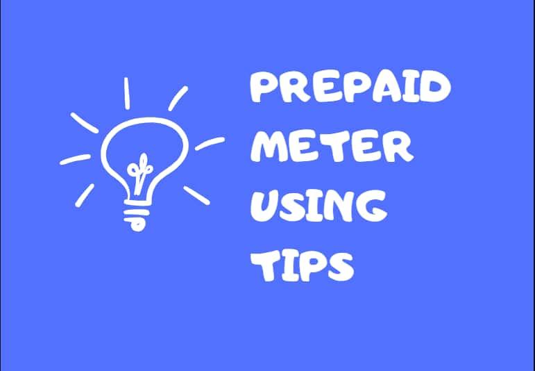 Resolve prepaid electricity meter error 30