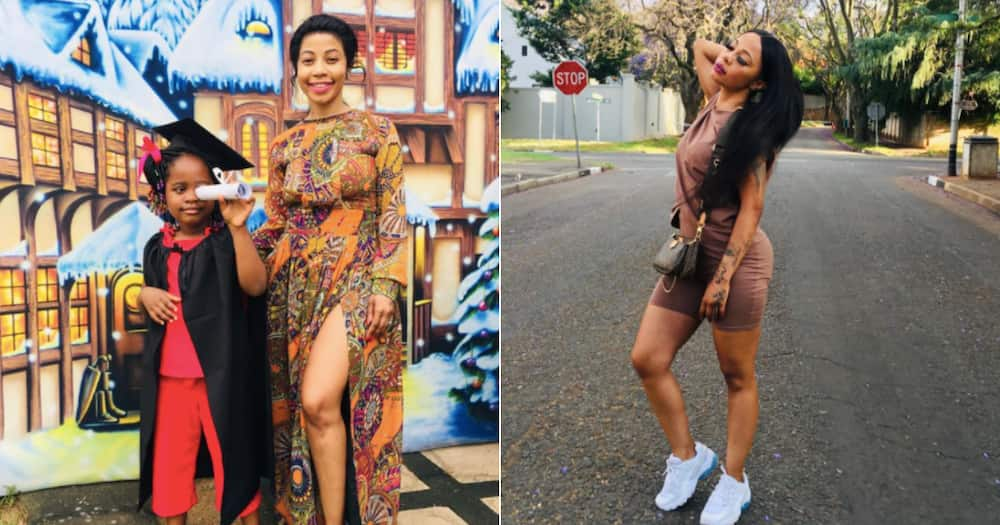 Kelly Khumalo celebrates her daughter's grade R graduation in style