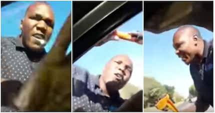 Video shows wrench-wielding man threatening family in road-rage clash