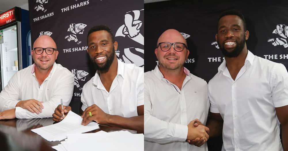 """Siya Kolisi Has Joined the Sharks, Mzansi Reacts Happily: """"Love It"""""""