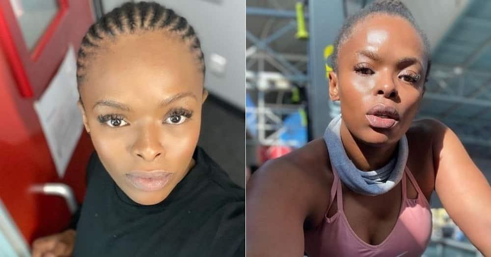Unathi Nkayi, therapy, battling, depression