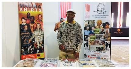 Ubuntu spirit captured in new piece from legendary designer of Madiba's shirts