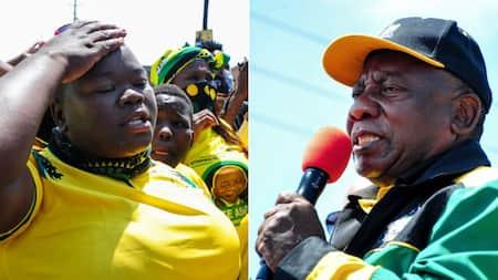 Ramaphosa gets hostile reception from Bloemfontein residents: 'We aren't happy'