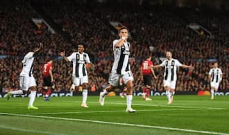 Dybala's lone strike help Juventus beat Man United at Old Trafford